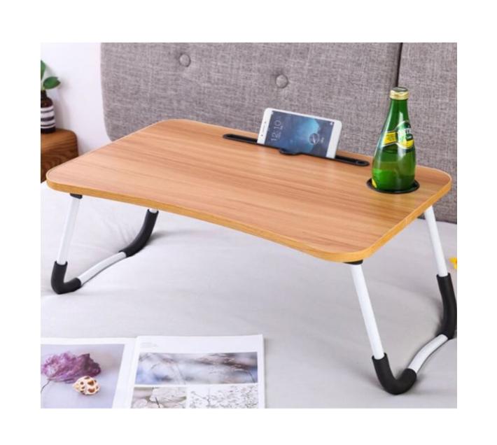 Oak Laptop Desk Stand