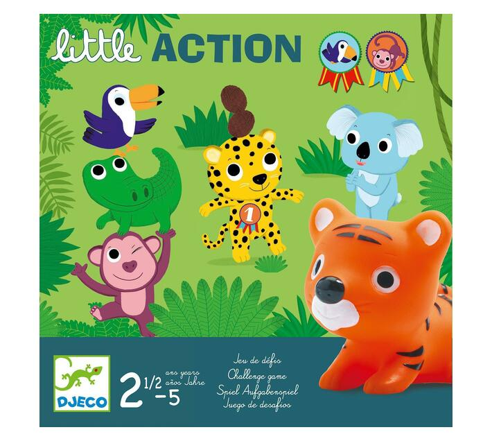Djeco Toddler Game- Little Action