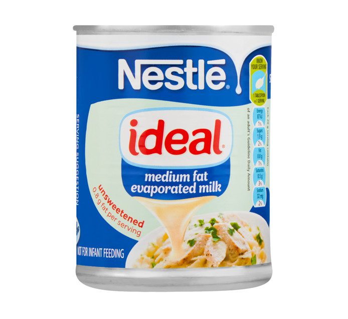 Ideal Evaporated Milk Low Fat (1  x 380g)
