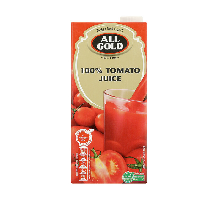 All Gold Tomato Juice (12 x 1L)