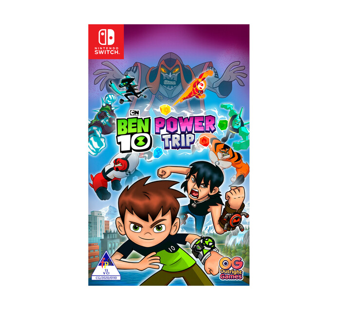 Nintendo Switch Ben 10 Power Trip - Available 9 October 2020