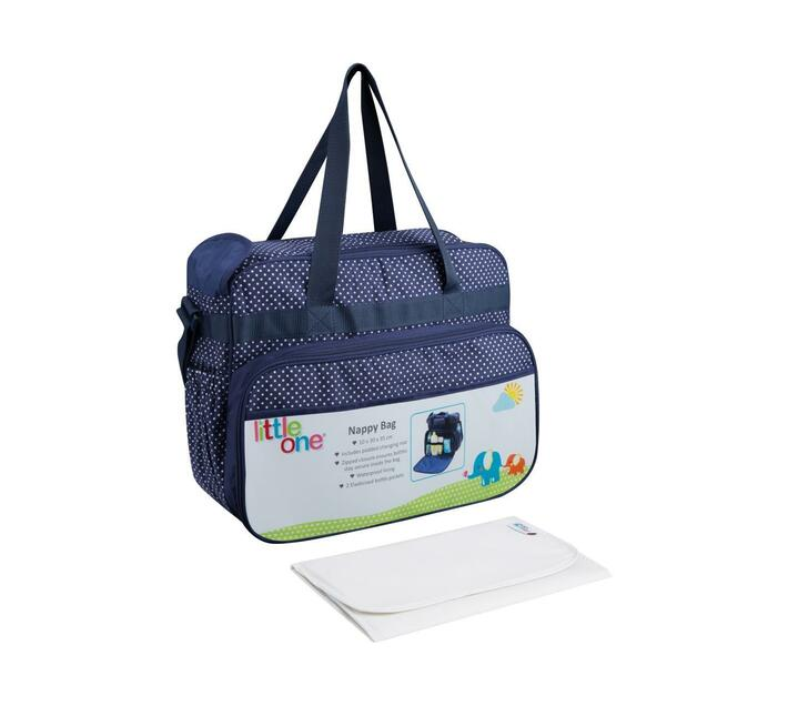 Little One Jennifer Series Diaper Bag - 20L - Navy