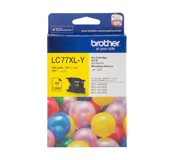 BROTHER 77XL Yellow Ink Cartridge