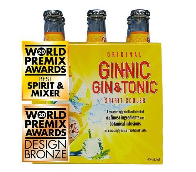 Ginnic - Original (6 x 275ml)