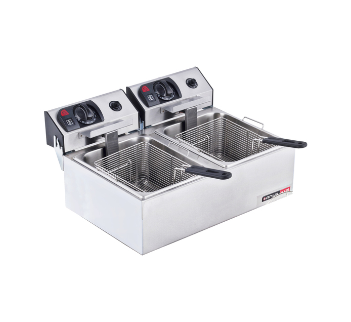 Anvil 2 x 5 l Double Fryer