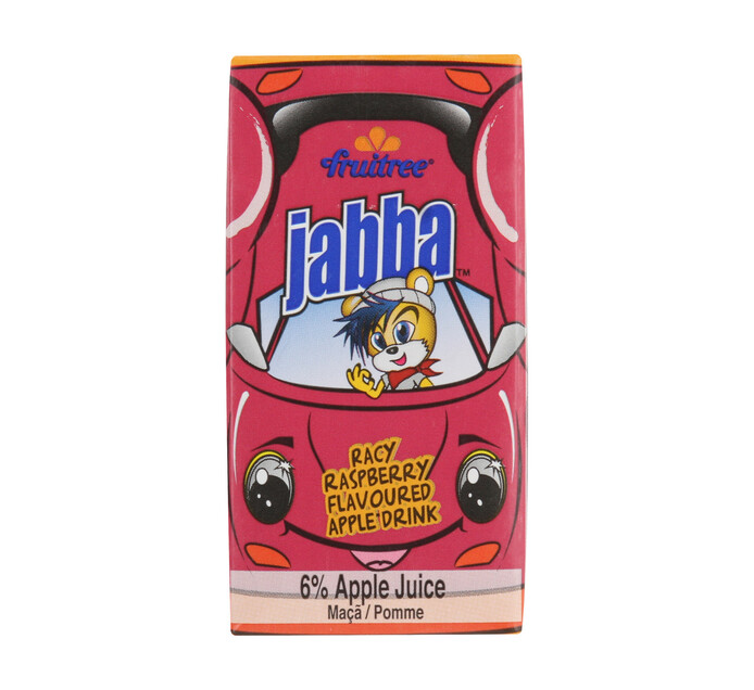 Fruitree Jabba Juice Raspberry (24 x 160ml)