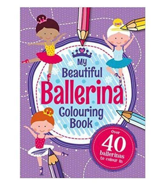 My Beautiful Ballerina Colouring Book