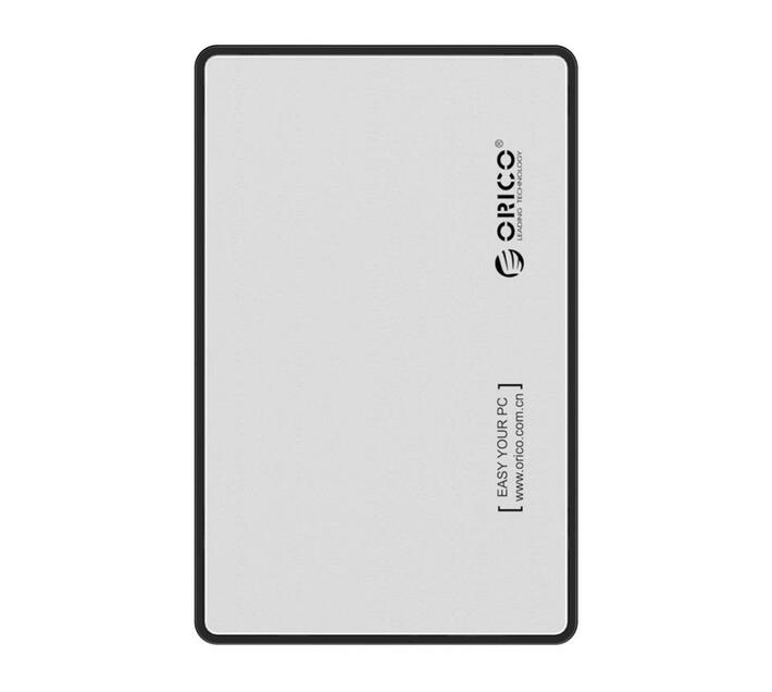 Orico 2.5 Usb3.0 External Hdd Enclosure Silver
