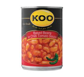 KOO Chilli Beans (12 x 420g)