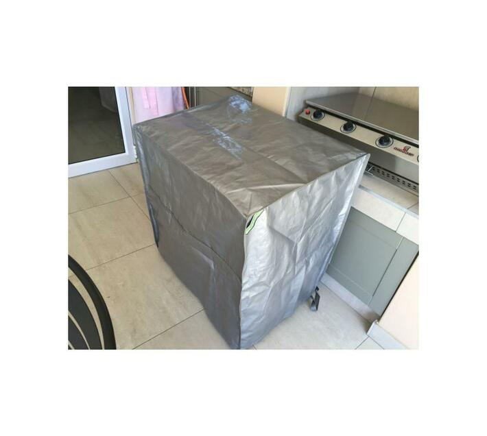 Patio Solution Covers Appliance Cover Large Plus - Black Polyweave 185grm