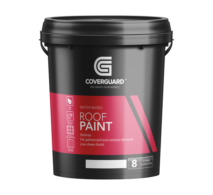 Coverguard 20 l Roof Paint Terracotta