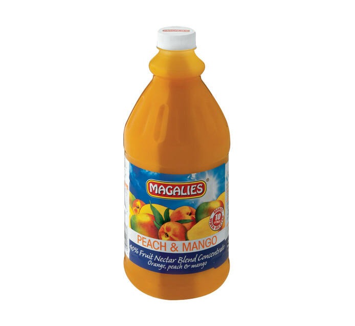 Magalies Concentrates Peach Mango (1 x 2L)