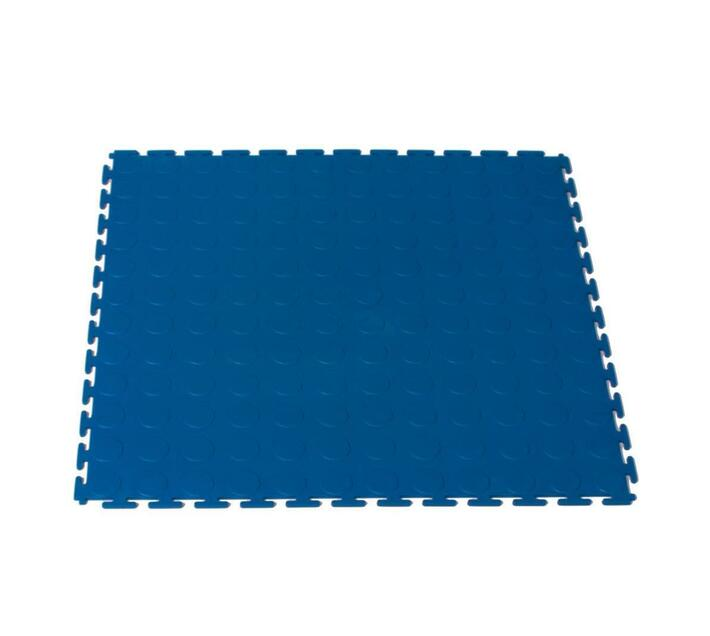 Blue color interlocking tile 1 m²
