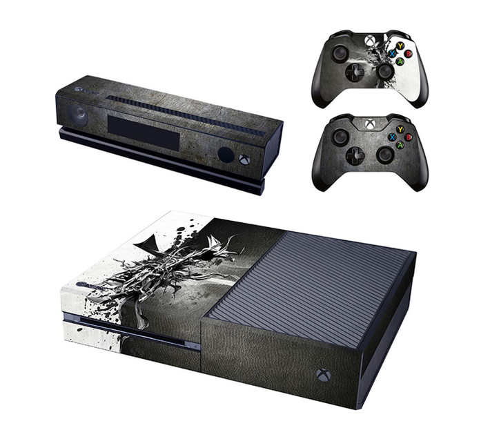 SKIN-NIT Decal Skin For Xbox One: Metal Design