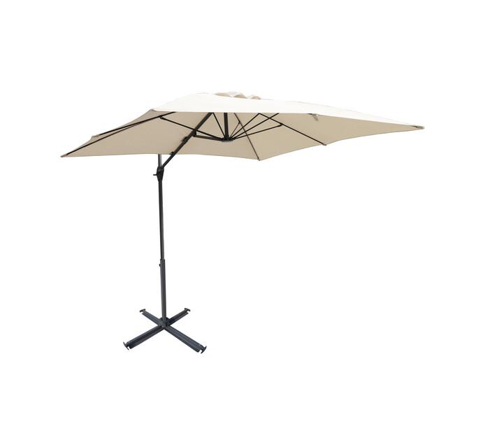 Urban Oasis Roman 360° Rotating Cantilever Umbrella