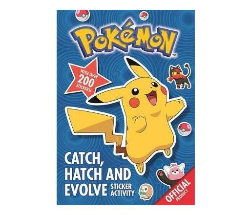 Pokemon: Catch, Hatch and Evolve Sticker Activity : With over 200 stickers