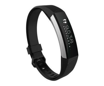 Linxure Fitbit Alta HR Silicone Replacement Strap Small - Black