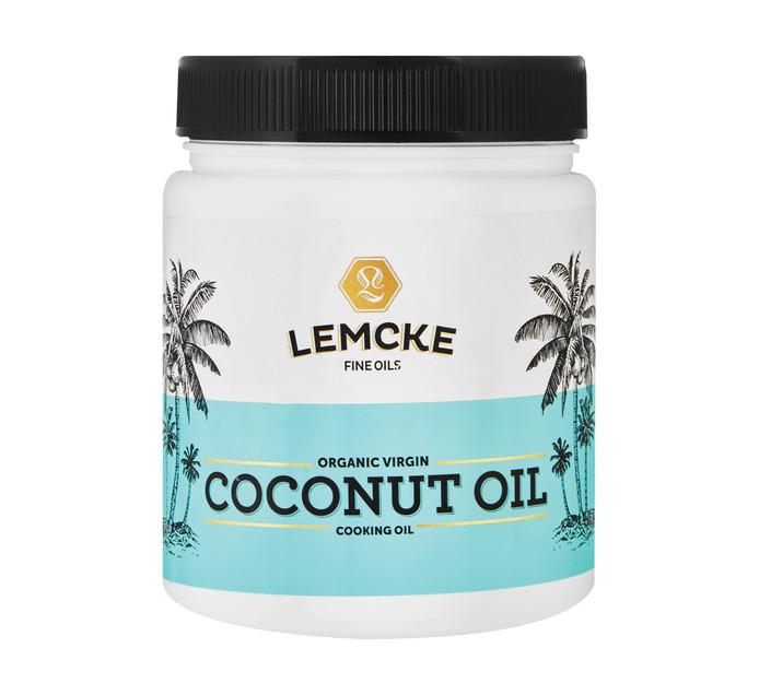 LEMCKE Organic Virgin Coconut Oil Oil (1 x 1lt)