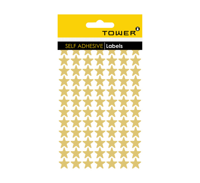Tower Stars Gold Stickers