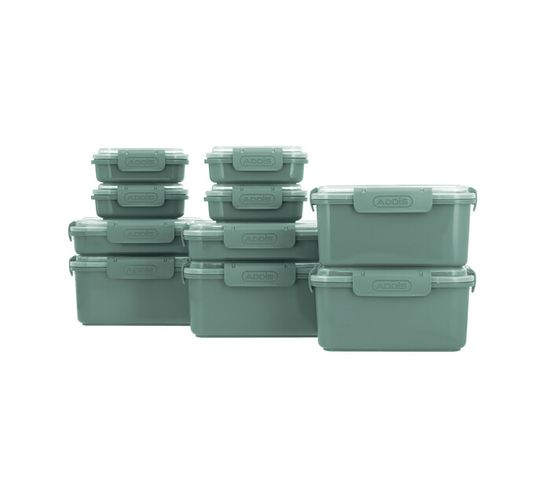 Addis 20-Piece Clip 'n Seal Food Container Set