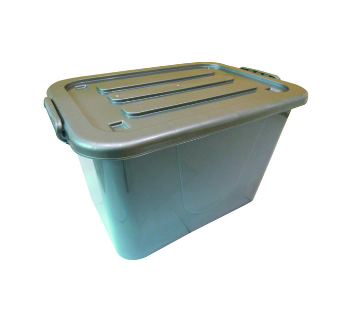 STORE 'N STAK CONTAINER GREY 42L