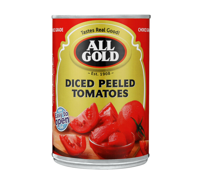 All Gold Peeled Tomatoes Chopped (1 x 410g)