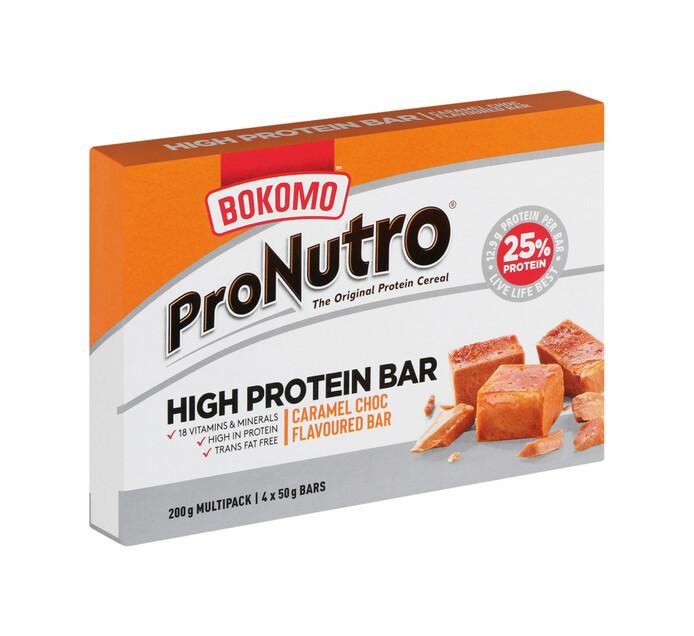 Pronutro High Protein Bar CARAMEL CRNCH (12 x 50g x 4)