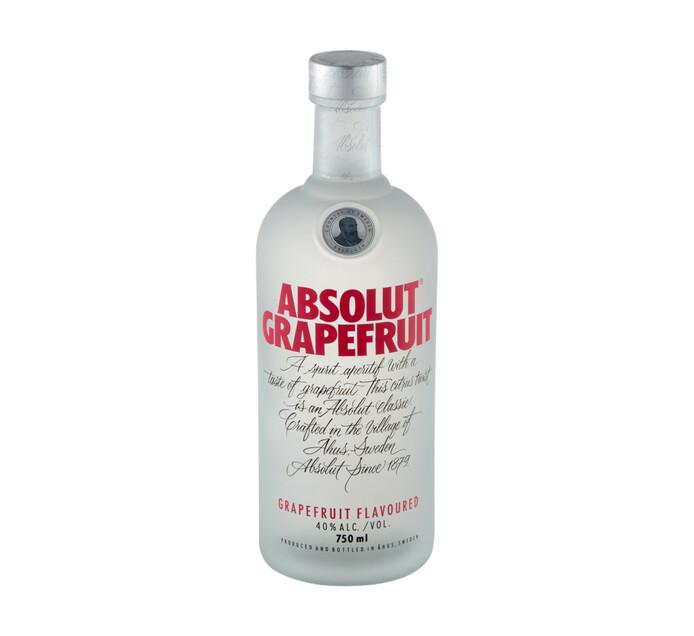 Absolut Grapefruit Vodka (1 x 750 ml)