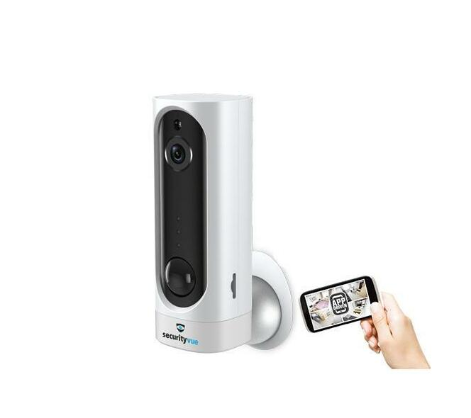 SECURITYVUE SMART HOME 720P WIRELESS RECHARGEABLE IP CAMERA WITH MOTION SENSOR