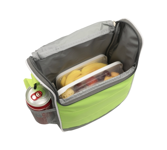 Quest Duo Series Lunch Cooler - Green/Grey