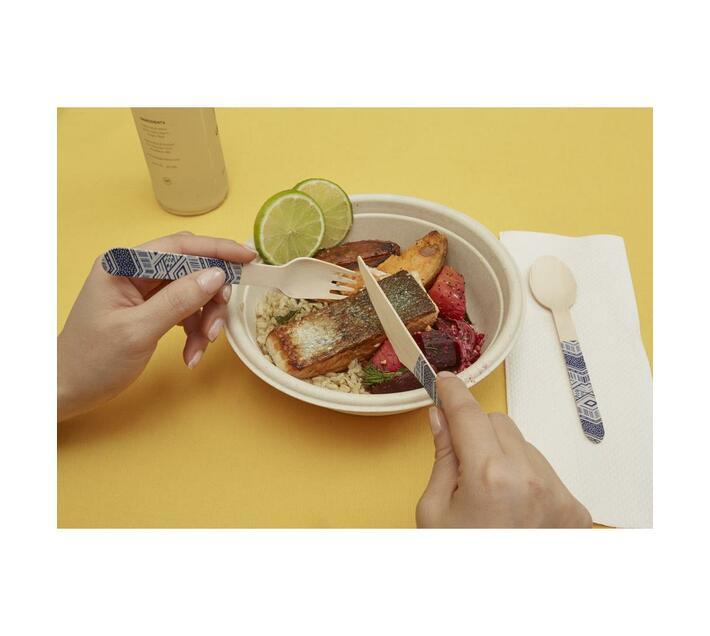 Wood Cutlery - Tribal