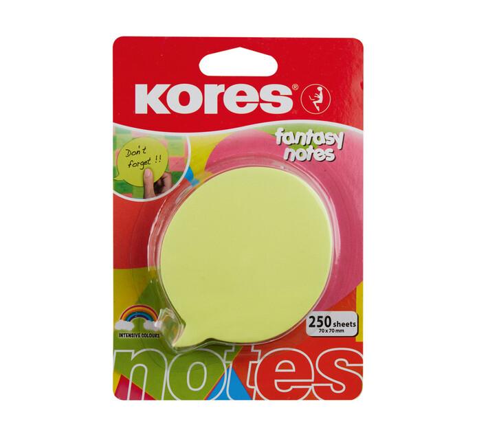 Kores Speech Bubble Fantasy Notes Assorted