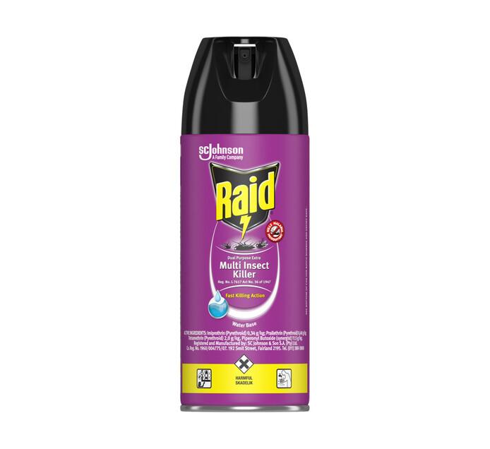 Raid Insect Spray (All variants) (6 x 300ml)