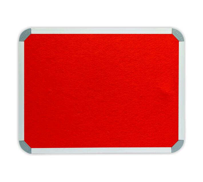 PARROT PRODUCTS Info Board (Aluminium Frame, 900*900mm, Burnt Orange)