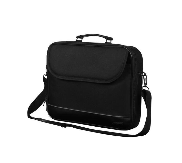 Connex 14,1` Laptop Shoulder Bag - Black