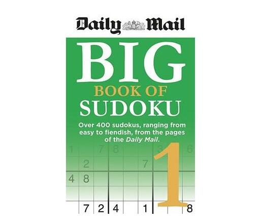 Daily Mail Big Book of Sudoku 1
