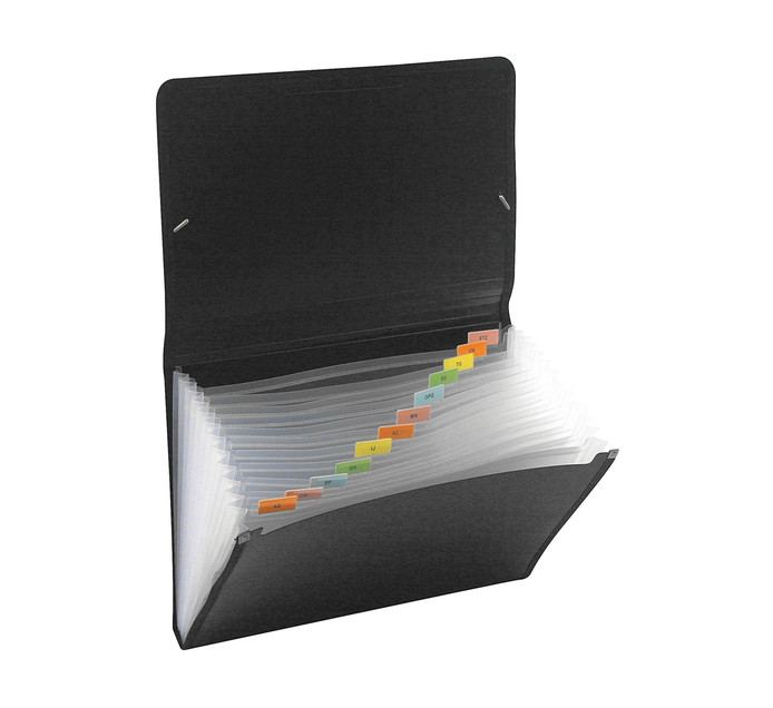 Kenzel A4 Concertina File Black Each
