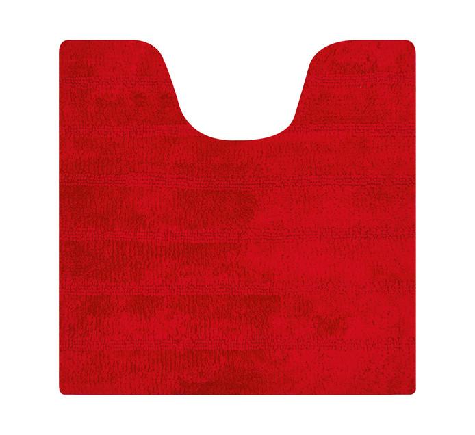 Home Living 50 x 50 cm Reno Pedestal Mat Red