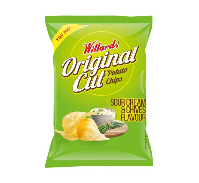 Willards Straight Cut Potato Chips (All Variants) (1 x 125g)
