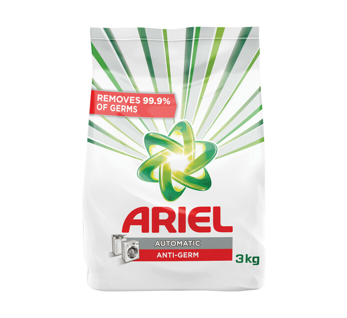 Ariel A/Powder Anti-Bacterial (1 X 3kg)