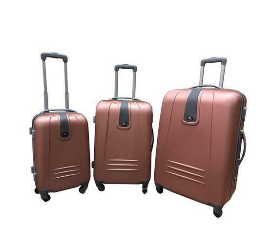 3 Piece Sleek Luggage Set
