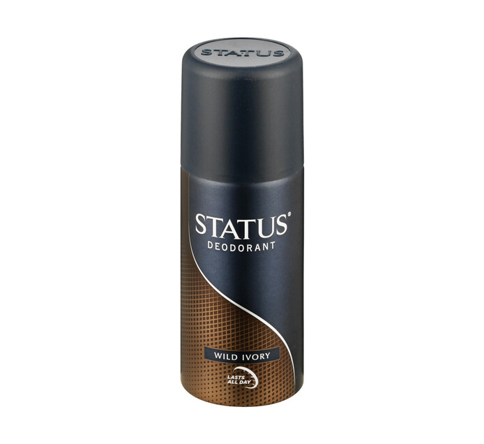 Status Aerosol Deodorant Wild Ivory (1 x 130ml)