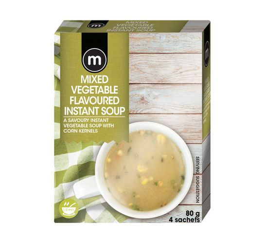 Plax Instant Soup Country Vegetable (4's)