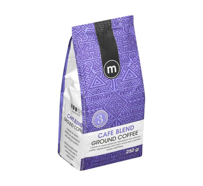 M Ground Coffee Blend Cafe Blend (12 x 250g)