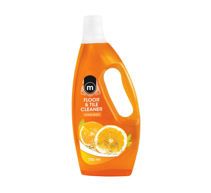 M Tile & Floor Cleaner Citrus Burst (12 x 750ml)