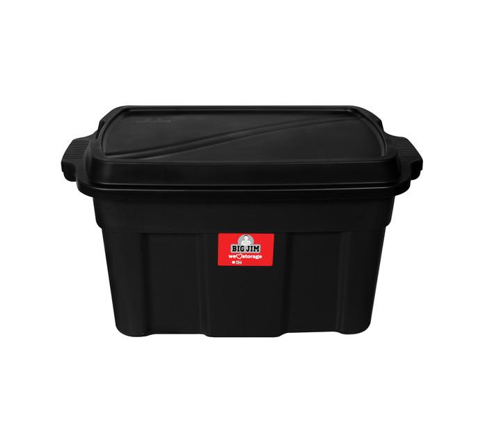 BIG JIM STORAGE BOX BLACK 110L