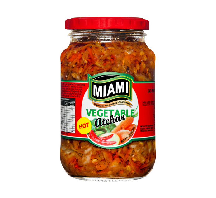 Miami Vegetable Atchar (All variants) (1 x 380g)