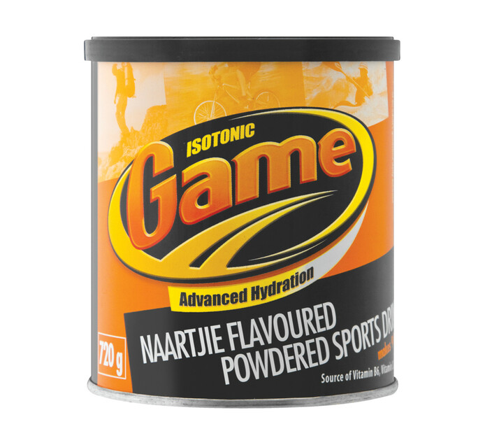 Game Powdered Sports Drink Naartjie (1 x 720g)