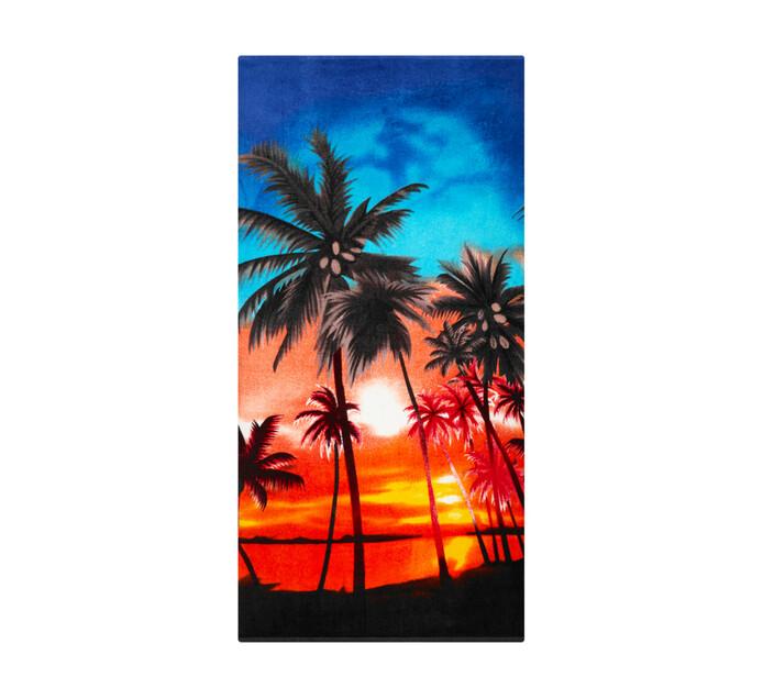 Primaries 85 x 160 cm Printed Beach Towel New Sun