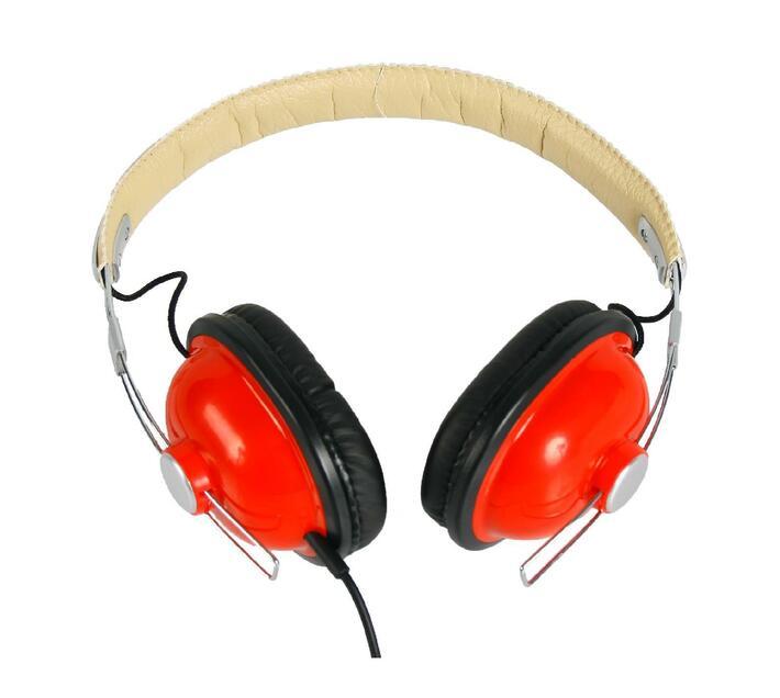 Ultra Link Retro Headphones - Red